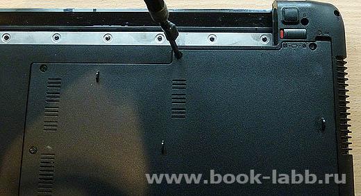как разобрать ноутбук asus x52j самому