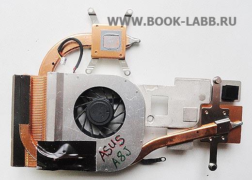система охлаждения ноутбука asus k40ab