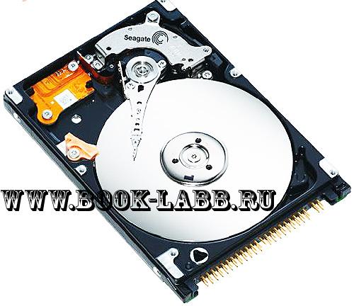 ide жесткий диск для ноутбука на 80 гигабайт вскрытый
