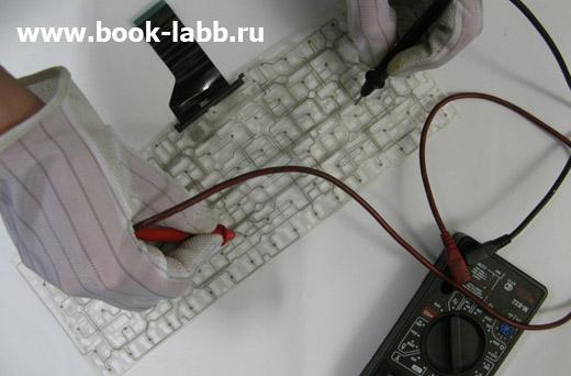 ремонт дорожек клавиатуры  в ноутбуке