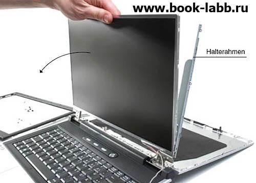 замена матрицы ноутбука спб