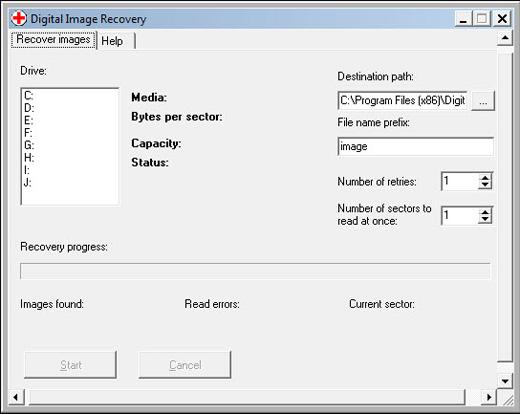digital image recovery программа для восстановления фотографий