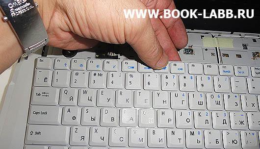 не работает клавиатура в ноутбуке acer aspire 5520g
