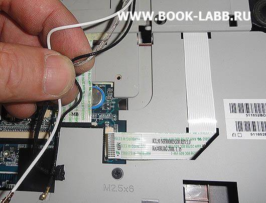 провода wifi в матрице для ноутбука acer aspire 5520g