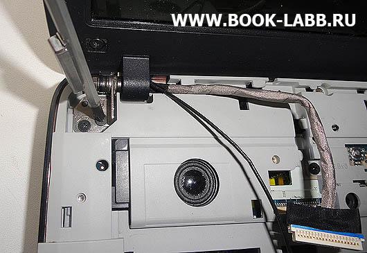 замена брекетов, механизма открытия крышки дисплея ноутбука acer aspire 5520g