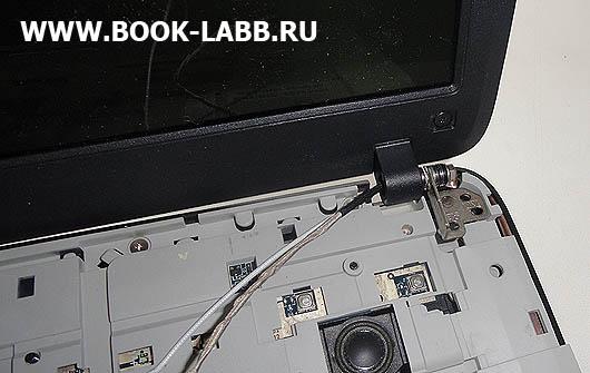 как снять дисплей у ноутбука acer aspire 5520g