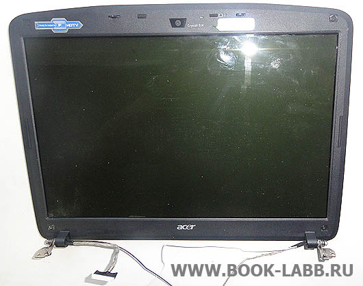 замена дисплея в ноутбуке acer aspire 5520g