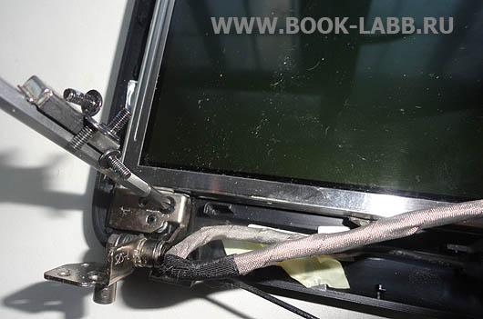 замена петель и дисплея в ноутбуке acer aspire 5920g