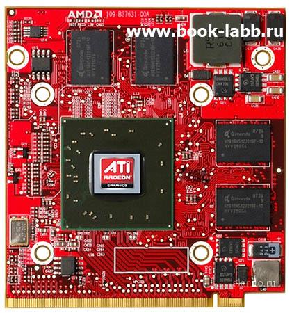 видеокарта для ноутбука ATI MOBILITY RADEON HD3650 для ноутбука замена ремонт