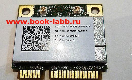 мини плата беспроводной сети класса Combo-card WIFI стандарта 802.11 B/G/N + BT mini PCIe Broadcom BCM94313HMGB