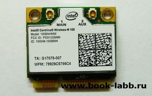 mini pcie wifi intel n100 купить в спб на петроградской горьковской 100nbhmw